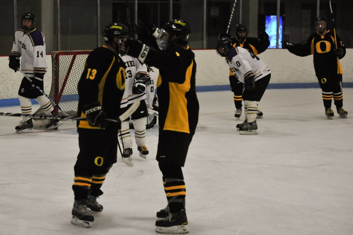 best sneakers 19bb8 26e31 Oregon Hockey; new team, new coach, still winning. | The ...